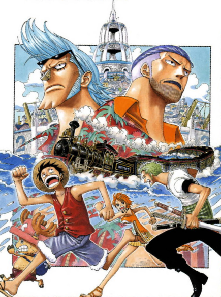 one piece Water 7 Arc