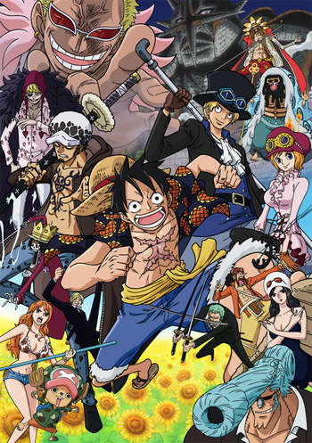 one piece Dressrosa Arc