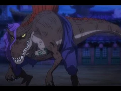 Ryu Ryu No Mi - Model Spinosaurus
