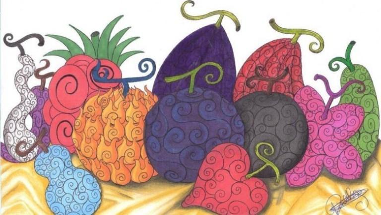 One Piece Şeytan Meyveleri Kitabı