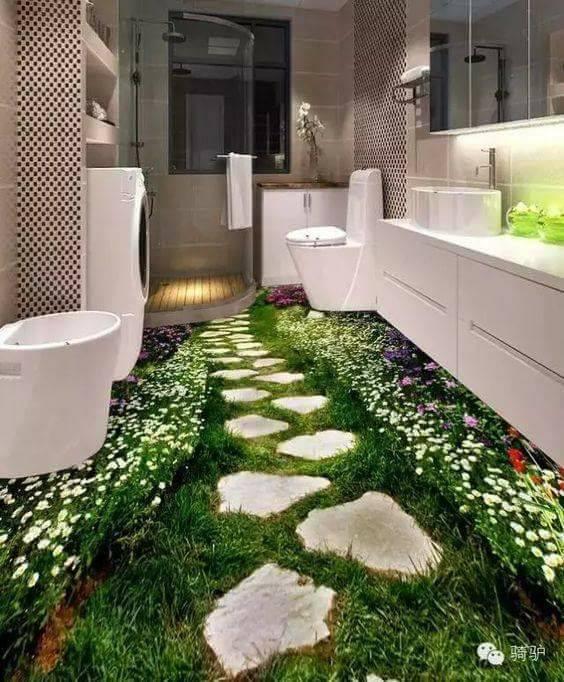doğa ile iç içe evler