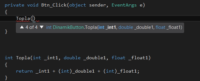 c# overload method return type