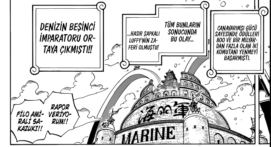One Piece Manga 903. Bölüm