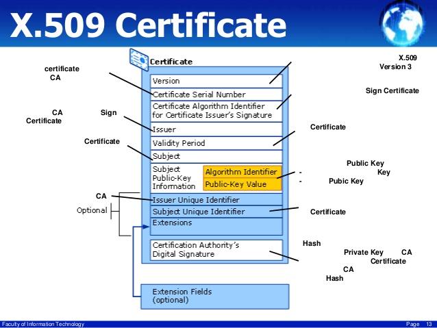 x509 sertifikası
