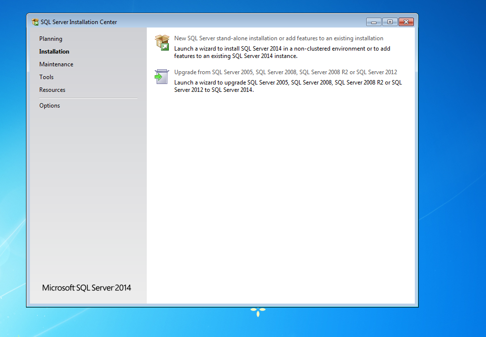 Microsoft SQL Server 2014 Express Kurulumu 2