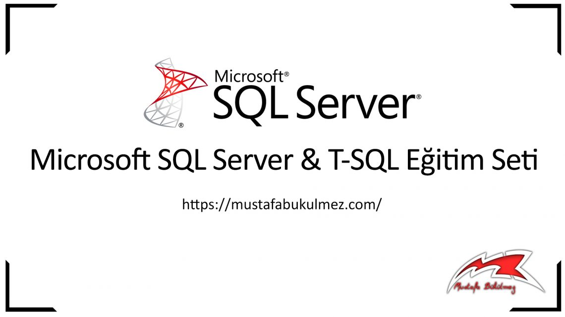 SQL Create Table – Tablo Oluşturma Kod İle