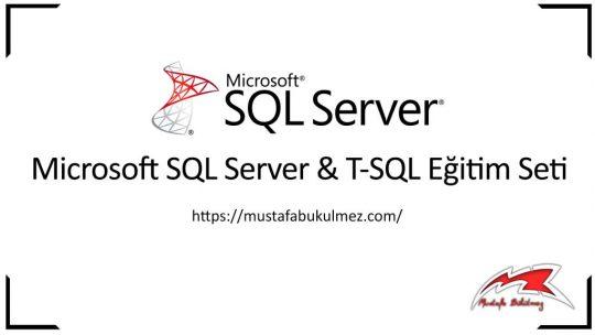 SQL Order By Komutu – Verileri Sıralama