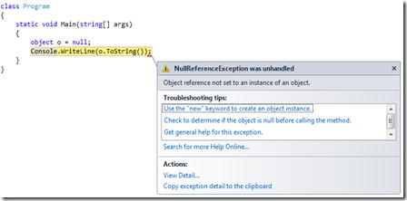 C# Exception Nedir Exception İşlemleri