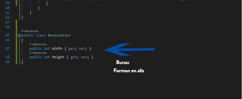 C# Desteklenen Max Ekran Çözünürlüğü Bulmak 2