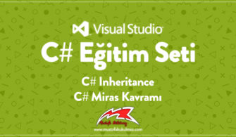 C# Inheritance - C# Miras Kavramı