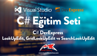 C# DevExpress LookUpEdit, GridLookUpEdit ve SearchLookUpEdit