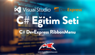 C# DevExpress RibbonMenu