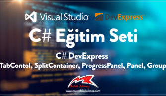 C# DevExpress TabContol, SplitContainer, ProgressPanel, Panel, Group