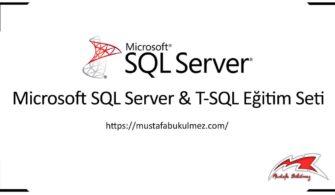 SQL Database Verilerle Create Script Oluşturmak