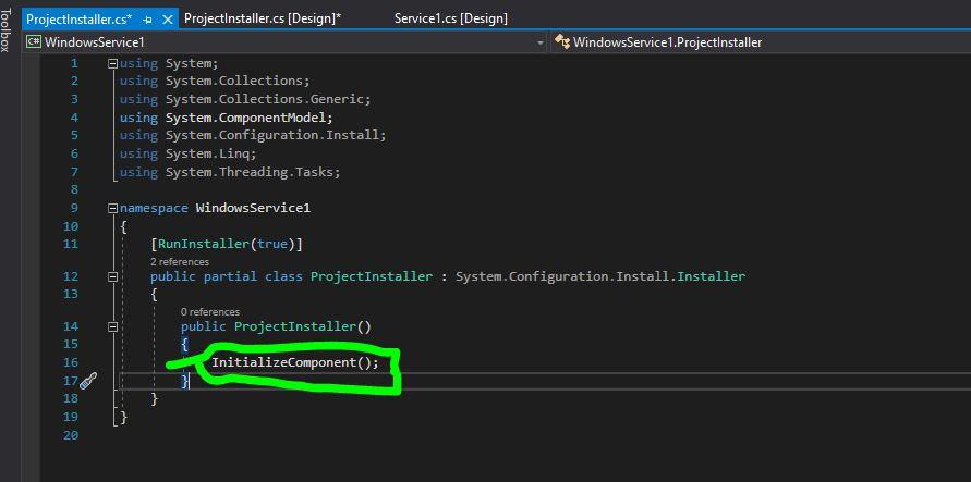 C# Windows Servis Hazırlama