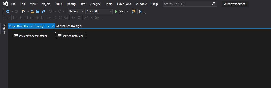 Windows Service in CSharp