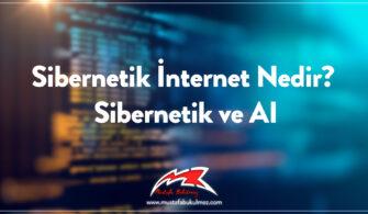 Sibernetik İnternet Nedir? Sibernetik ve AI