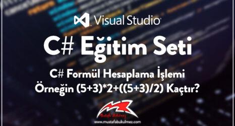 C#-Formül-Hesaplama-İşlemi