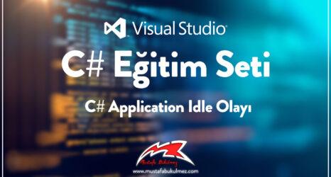 C#-Application-Idle-Olayı