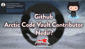 Github Arctic Code Vault Contributor kapak