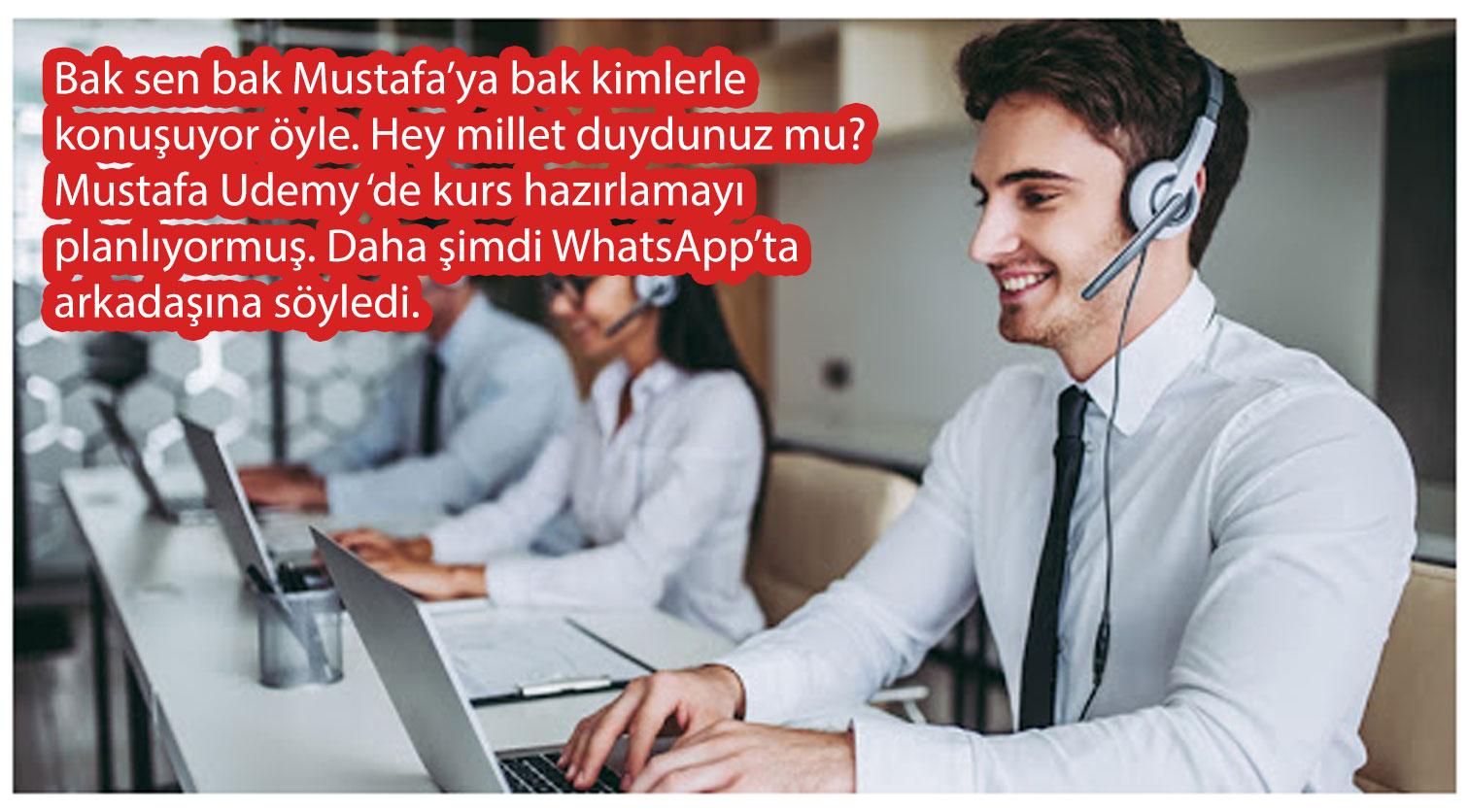 WhatsApp bizi dinliyor