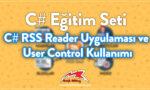 C# RSS Reader Uygulaması ve User Control Kullanımı