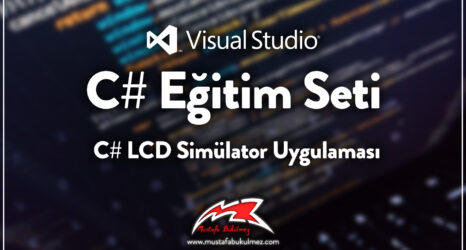 C# LCD Simülator Uygulaması