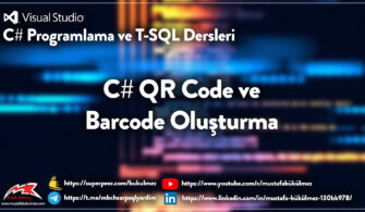 C# QR Code ve Barcode Oluşturma