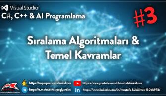 Sıralama Algoritmaları Nedir- Sorting Algorithm1